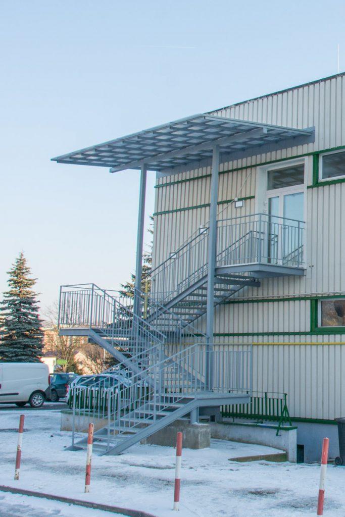 schody metalowe spawane