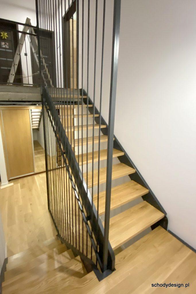 schody z lamelami